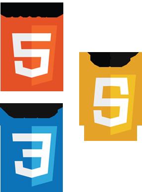 Logos html5 css3 js